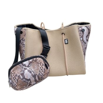 Bag and Bougie Tan Cobra Bundle