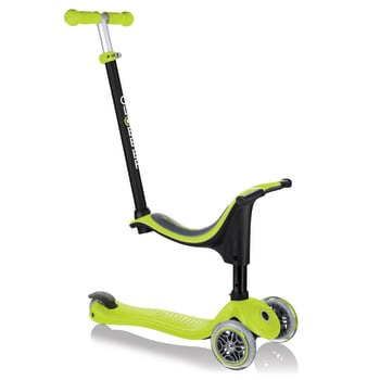Globber GO-UP  Sporty 4-in-1 Scooter -  Lime Green