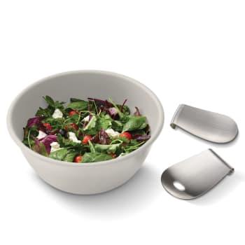 Joseph® Joseph Uno™ Salad Bowl and Servers Set - Stone
