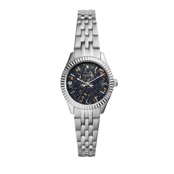 Fossil Women's Scarlette Mini Three-Hand Date Stainless Steel Watch