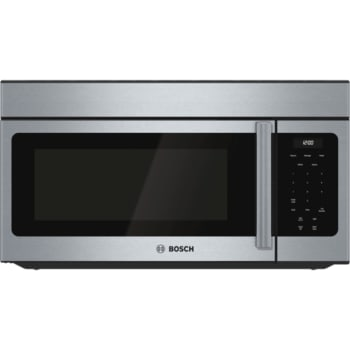 Bosch 300 Series Over-The-Range 1.6 Cu. Ft. Microwave - Stainless Steel