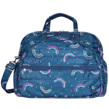 Lug® Steamboat 2 Overnight Bag – Rainbow Navy