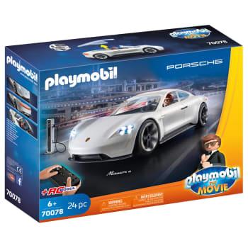 Playmobil The Movie Rex Dasher's Porsche Mission E