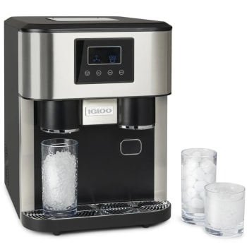 Igloo® 33-Pound Dual Dispensing Ice Maker and Crusher
