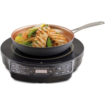 NuWave® PIC Gold Precision Induction Cooktop with 10.5'' Fry Pan