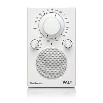 Tivoli The PAL™ BT Bluetooth Portable Radio – White