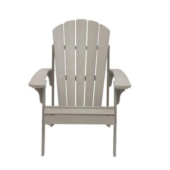 Tanfly Adirondack Chair - Light Grey