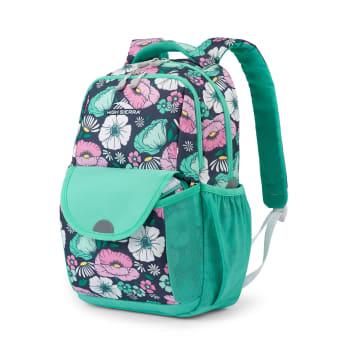 High Sierra Ollie Lunch Kit Backpack – Floral Indigo Blue
