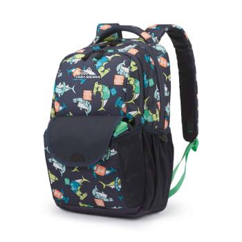High Sierra Ollie Lunch Kit Backpack – Blue Sharks