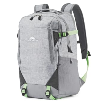 High Sierra Takeover Backpack - Silver Heather/Neo Mint