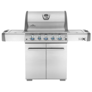 Napoleon LEX485 5-Burner Grill – Natural Gas with Cover