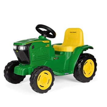 Peg Perego John Deere Mini Tractor 6V Ride on Toy