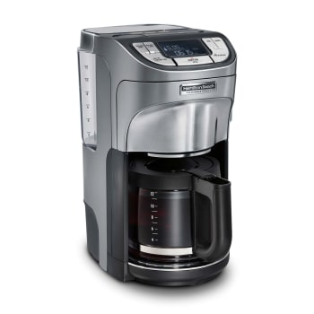 Hamilton Beach® 12-Cup Professional Programmable Coffee Maker – Silver