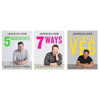 Jamie Oliver Book Bundle