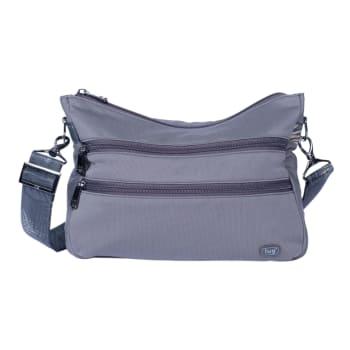 Lug® Slider FS Crossbody Bag – Gunmetal Grey
