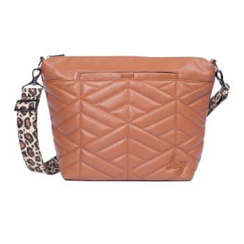 Lug® Flare XL VL Crossbody Bag – Copper Brown