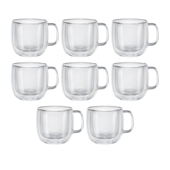 Zwilling Sorrento Plus 8-Piece Cappuccino Mug Set