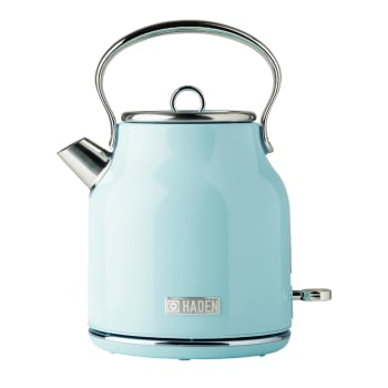 Haden Heritage 1.7-Litre Stainless Steel Electric Kettle - Turquoise