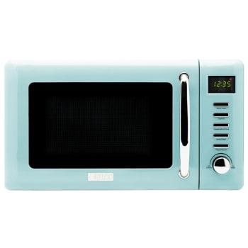Haden Heritage 700-Watt 0.7 cu. Ft. Microwave – Turquoise