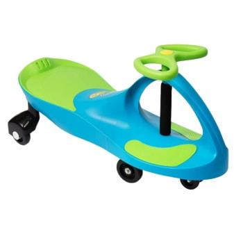 Plasmart PlasmaCar Ride-On – Aqua Blue/Lime Green
