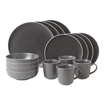 Gordon Ramsay by Royal Doulton® Bread Street Kitchen 16-Piece Dinner Set – Slate