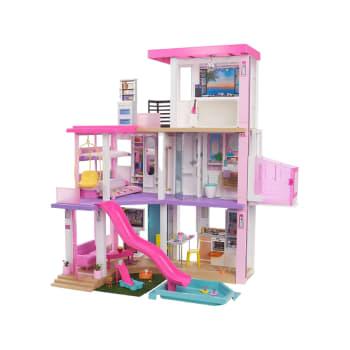 Barbie DreamHouse Dollhouse with Pool, Slide, Elevator, Lights & Sounds