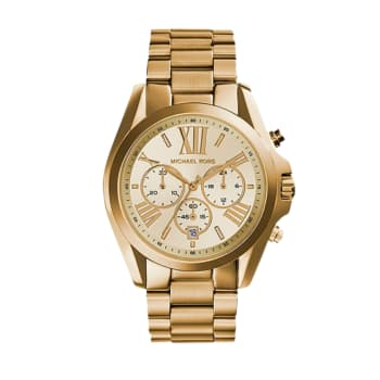 Michael Kors Bradshaw Women's Gold-Tone Stainless Steel Watch