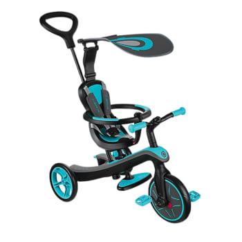Globber Explorer 4-in-1 Trike – Teal