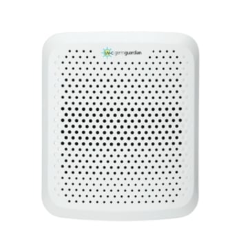 """GermGuardian AC225W 7"""" Pluggable Air Purifier with UV-C"""