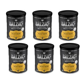 Balzac's Coffee Roasters Balzac's Blend Ground Coffee – 300g/10oz – Set of 6