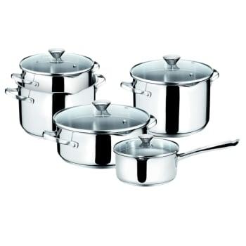 Lagostina Smart 9-Piece Cookware Set