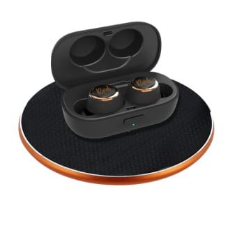 Klipsch® T4 True Wireless Headphones with Charging Pad