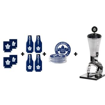 Mustang Drinkware Toronto Maple Leafs Drink Tube Patio Bundle