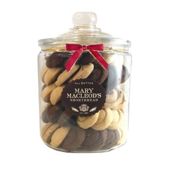 Mary Macleod's Shortbread 4-Quart Assorted Shortbread Cookie Jar