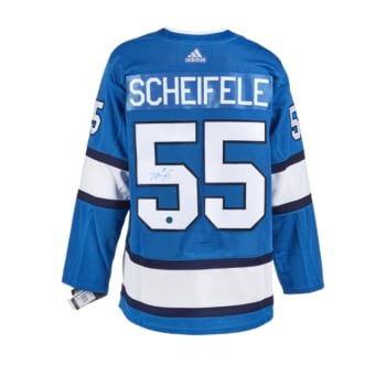 AJ Sports Mark Scheifele Winnipeg Jets Signed Aviator Adidas Jersey
