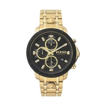 Versus by Versace Bicocca Gold Tone Bracelet Watch