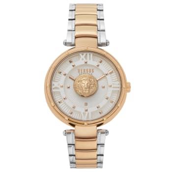 Versus by Versace Moscova Ladies Two-Tone Rose Gold Bracelet Watch
