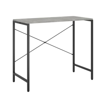 Worldwide Home Furnishings Darcy Desk - Cement