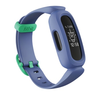 Fitbit Ace 3 Activity Tracker for Kids - Cosmic Blue / Astro Green
