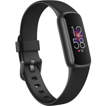 Fitbit Luxe Fitness Tracker with 24/7 Heart Rate & Sleep – Black