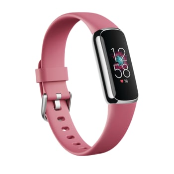 Fitbit Luxe Fitness Tracker with 24/7 Heart Rate & Sleep – Orchid