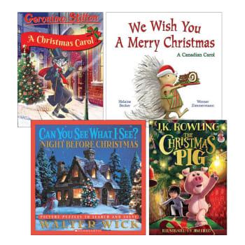 Christmas Stories: 4 Book Bundle