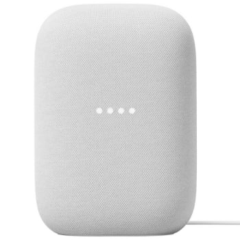 Google Nest Audio Smart Speaker – Chalk