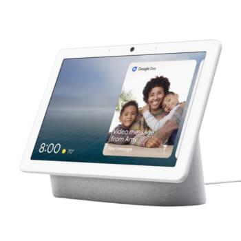 Google Nest Hub Max Smart Display – Chalk