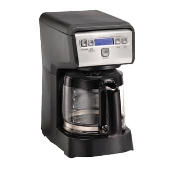Hamilton Beach 12-Cup Compact Programmable Coffee Maker