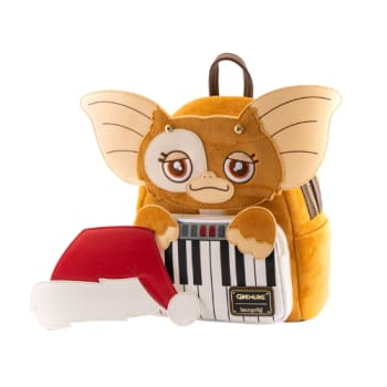 Loungefly Gremlins Gizmo Holiday Cosplay with Removable Hat Mini Backpack