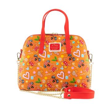Loungefly Disney Gingerbread AOP Crossbody Bag