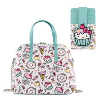 Loungefly Sanrio Hello Kitty Sweet Treats Crossbody Bag and Cardholder