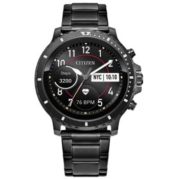 Citizen CZ Smart Gunmetal Stainless Steel Smartwatch