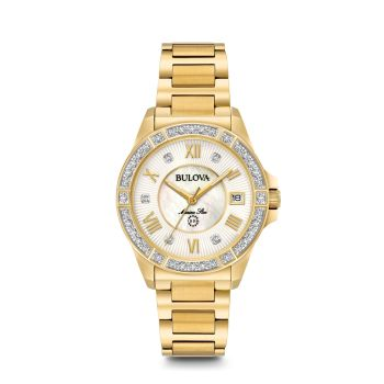 Bulova Womens Marine Star Diamond Watch